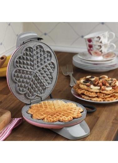 Korkmaz Mia Pembe Waffle Makinesi Pembe